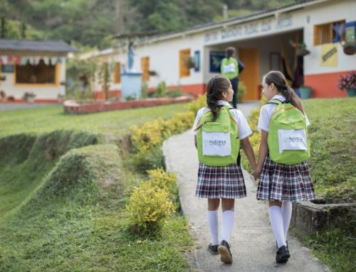 Grupo Nutresa genera experiencias lúdicas para la alegría y bienestar de los niños y niñas.
